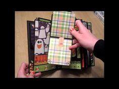 Halloween Paper Bag Mini Album
