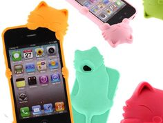 Kitty iPhone cases.