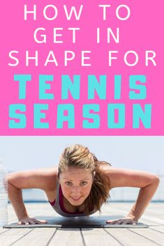 How to get in shape for season: Learn about what strength training activities and workouts will work best to get you ready for playing tennis. Ideas on cardio exercises that build endurance and will help your performance on the tennis court. Tennis Games, Tennis Gear, Tennis Tips, Tennis Clubs, Tennis Players, Sport Tennis, Tennis Clothes, Tennis Videos, Tennis Party
