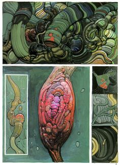 """Moebius, from """"Chaos,"""" 1991"""