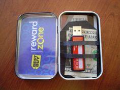 altoid tin wallet