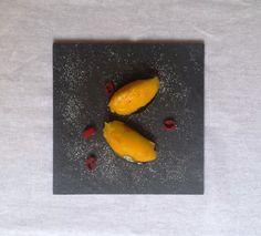 mangosorbet med appelsin og chili