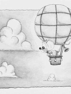 Cute Monsters Drawings, Weird Drawings, Cute Animal Drawings, Cartoon Drawings, Easy Drawings, Cool Sketches, Art Drawings Sketches, Disney Drawings, Pencil Drawings