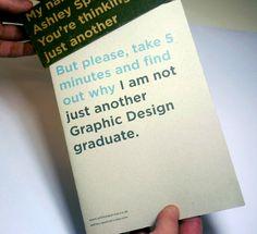 Curriculum Vitae / Resume by Ashley Spencer, via Behance