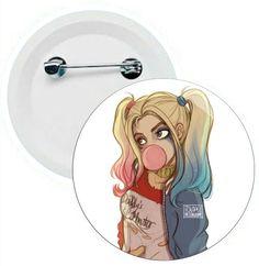 J017 - Botons e Chaveiros - Esquadrão Suicida - Joker - Coringa - Harley Quinn - Wathsapp: (61) 9 9129-7213