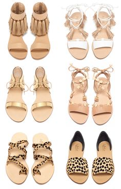 Spring 15 Loeffler Randall sandals featuring stars, fringe and tassels // Southern Arrondissement // top two. Cute Sandals, Cute Shoes, Me Too Shoes, Shoes Sandals, Shoe Closet, Crazy Shoes, Shoe Collection, Summer Shoes, Footwear