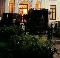 Scene from Season 3 Voyager Outlander_Starz being shot in Stellenbosch - Cape Town, Africa - posted up on May 7th, 2017