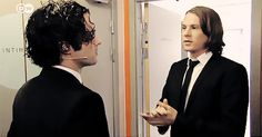 Ylvis Brothers Looking At Each Other
