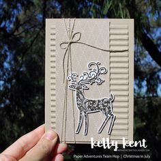 Posts about Christmas written by Kelly Kent Christmas Trends, Christmas Deer, Modern Christmas, Christmas In July, Christmas Inspiration, Handmade Christmas, Winter Cards, Holiday Cards, Christmas Cards