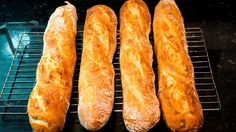 How to make French Baguettes at home - YouTube