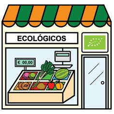 Pictogramas ARASAAC - Tienda de productos ecológicos. Paper Doll House, Paper Dolls, Community Places, Community Helpers, Montessori Materials, School Colors, English Vocabulary, Cool Baby Stuff, Spanish