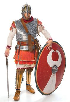 Robert Vermaat from Fectio as a Late Roman soldier