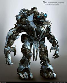transformers 3 design by Tsvetomir Georgiev | 3D | CGSociety