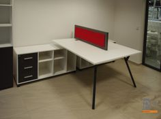 Meble biurowe system X100 dostawa dla producenta okien Kapica http://www.projektmebel.pl/oferta/produkt/x100-biurowe