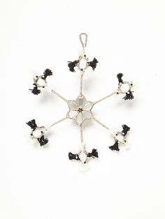 Free People Large Mirrored Snowflake Ornament, $28.00