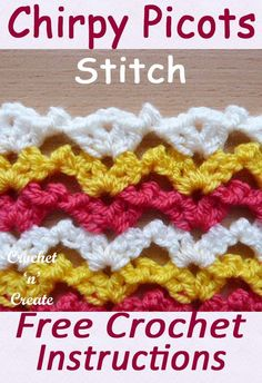 Crochet Tutorial Design Gorgeous all over design of shells and picots use for baby blankets and sweaters. CLICK and scroll down to learn how to crochet this from my free stitch tutorial. Crochet Baby Shawl, Crochet Stitches, Free Crochet, Knit Crochet, Crochet Crafts, Crochet Projects, Diy Crafts, Decor Crafts, Diy Projects
