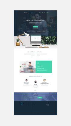 Leaf, Lamp & Tear Website Design