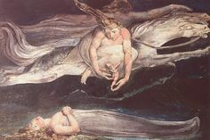 Illustration to Dante's Divine Comedy (1795) by William Blake.