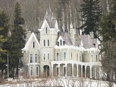 Skene Manor, listed on the National Register of Historic Places as Judge Joseph Potter House, is a historic home located at Whitehall in Washington County, New York. It was built in 1874 and is a handsome Victorian style mansion built of grey sandstone quarried from its own site with a mansard roof.