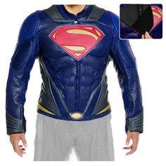 Superman Man of Steel Movie Leather Motorcycle Jacket