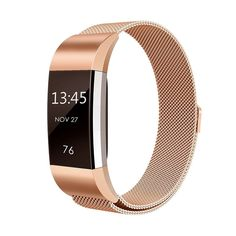 For Fitbit Charge 2 Bands Milanese Loop Stainless Steel Metal Replacement Bracelet Strap with Unique Magnet Fitbit Wristband, Fitbit Strap, Fitness Wristband, Rainbow Band, Charge 2 Bands, Mesh Band, Fitness Bracelet, Fitbit Charge, Smart Bracelet