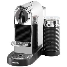 Buy Nespresso CitiZ & Milk Coffee Machine by Magimix, Chrome Online at johnlewis.com £219.95