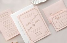 icanhappy.com pink wedding invitations (13) #weddinginvitations