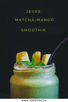 Matcha, Pickles, Cucumber, Smoothie, Mango, Healthy Recipes, Food, Manga, Essen
