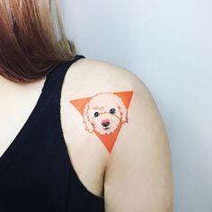Y este retrato único. | 28 Hermosos Tatuajes de perros