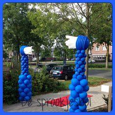 De tandenborstels mogen maken voor hoe kan het ook anders de tandarts! Helder Bunschoten Spakenburg @desprookjesbol.nl