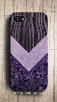 Lavender #chevron #iPhone case - simple, yet elegant #ghdpastels