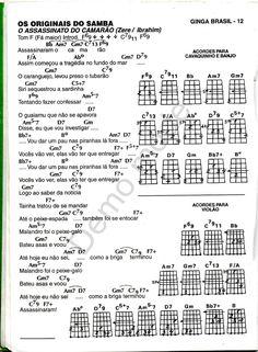 ginga brasil especial originais do samba Banjo, Sheet Music, Tambourine, Ropes, Music Instruments, Guitar, Rome, Music Sheets, Banjos