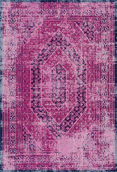 nuLOOM Porisa Pink Rug