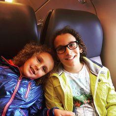 My two sweet Kids in the train  #trainjourney #train #trainride #summer #trains #travel #rotterdam #trainlife #trainstation #mountains #trains_worldwide #railfans_of_instagram #gay #sky #railwaytracks #rail_barons #water #railways #selfie #tåg #railways_of_our_world #feyenoord #nature #feyenoord4life #transport #trainrides #blackandwhite #blue #railwaystation #railfans by dezarobv