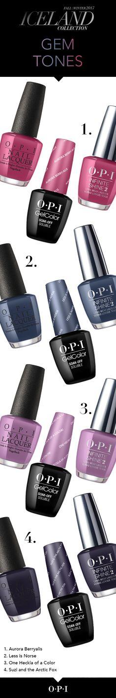 OPI Iceland Collection - Gem Tones