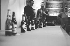 Beer label judging @ Levine DC