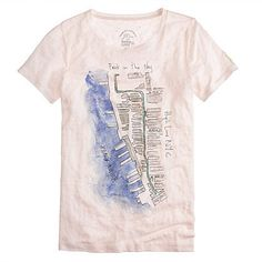 This Watercolor Map Tee ($44) is an amazing visual reminder of how beautiful the park is, and how important it's been not just to me, but to all of New York City. — JF