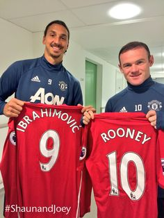 #Our9and10 Zlatan and Wayne are supporting #ShaunandJoey on Sunday 9 October - donate online at http://po.st/DonateShaunJoey