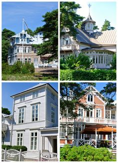 Hangon huvilat - Villas in Hanko, Finland Malta, Best Cities, Homeland, Sims 4, Norway, Sweden, Architecture Design, Places To Go, Beautiful Places