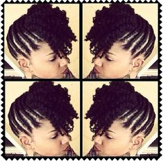 Best Guide for Black Women With Natural Hair. How to Care For Curly Hair & Natural Hair Twists, Pelo Natural, Natural Hair Updo, Natural Hair Styles, Twist Hairstyles, African Hairstyles, Black Hairstyles, Dreadlock Hairstyles, Wedding Hairstyles