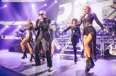 Pitbull performing at the iTunes Festival at SXSW, Friday March 14th 2014