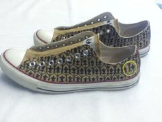 Sherlock inspired Converse All Stars. I NEED THESE!!!!