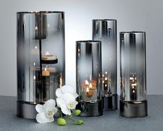 reflective hurricane and tealight candle holders www.partylite.biz/cndllady