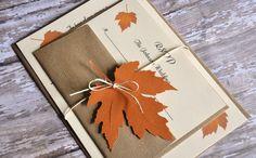 Einladung Herbst-Hochzeit