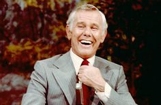 Johnny Carson - Host of The Tonight Show from 1962-1992. Truly the King of Late Night. A very classy guy.