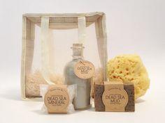 Mud Bath Spa Kit Gift Bag Set 9 oz Dead Sea Mud Bath 3 by elaeis