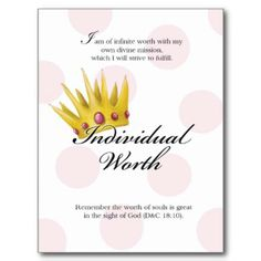 Shop YW Value Card - Individual Worth created by littledreamsart. Individual Worth, Young Women Values, Girls Camp, Our Girl, Movies Online, Cards, Free, Religion, Awesome