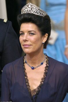 Sighted in 2004, at the Wedding Of Crown Prince Frederik & Mary Donaldson, Princess Caroline's Brunswick tiara, which belongs to the Hanover family and was once owned by Empress Joséphine