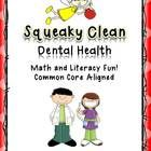 This 93-page pack will help you and your students have fun while learning about dental health. Aligned with Common Core Standards, this includes li...
