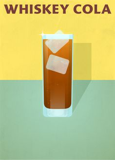 COCKTAILS par Tomba Lobos, via Behance